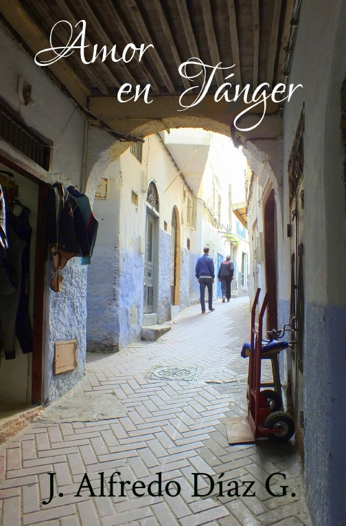 Portada de la novela Amor en Tanger