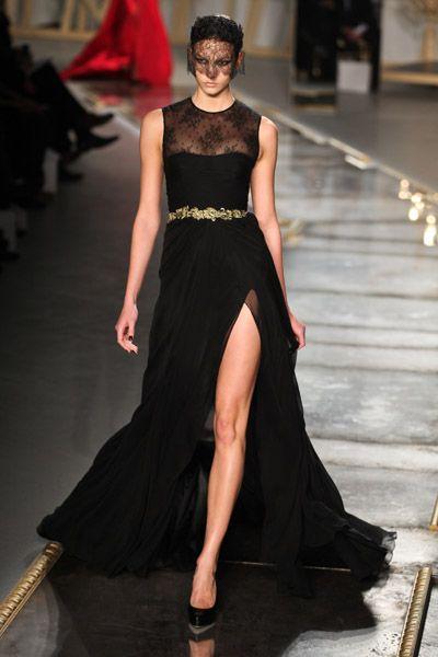 vestido fiesta negro Amina