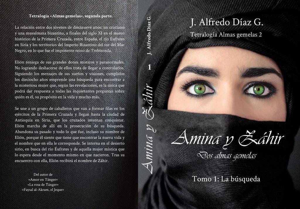 Amina y Zahir, portada completa
