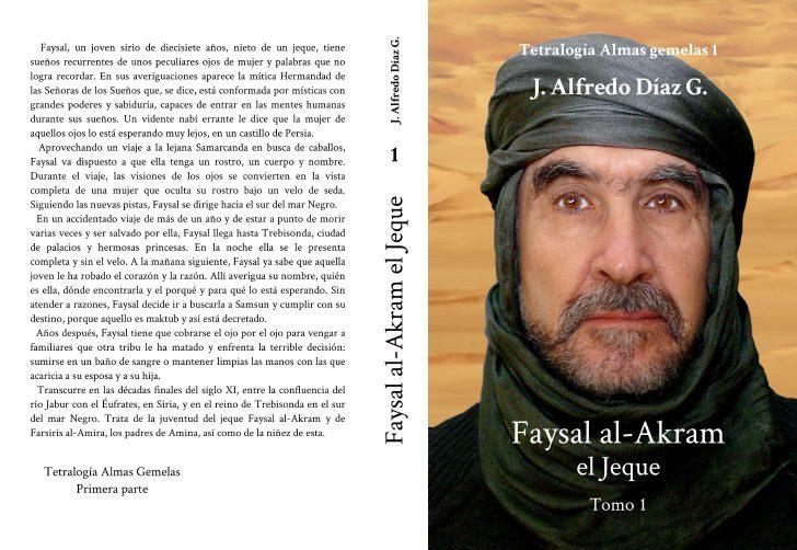 Portada novela Faysal al-Akram, el Jeque Tomo 1