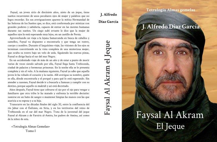 Portada novela Faysal al-Akram, el Jeque
