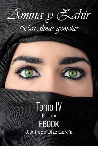 portada ebook de Amina y Zahir