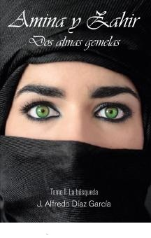 Portada novela Amina y Zahir 4 Tomos