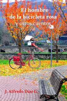 portada cuentos el hombre de la bicicleta rosa