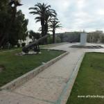 Cañones Jardines de la Mendoubia de Tanger