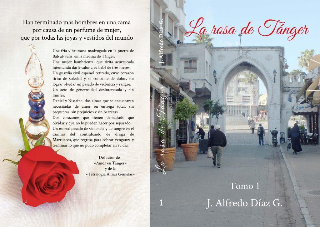 Portada de la novela La rosa de tanger.
